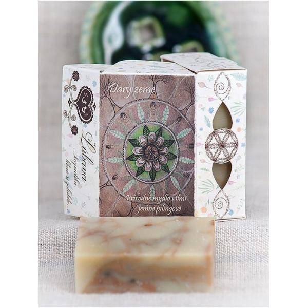 Dary zeme - prírodné mydlo s liečivými ílmi, jemne pílingové