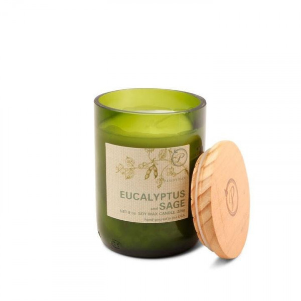 Eucalyptus & sage soy candle