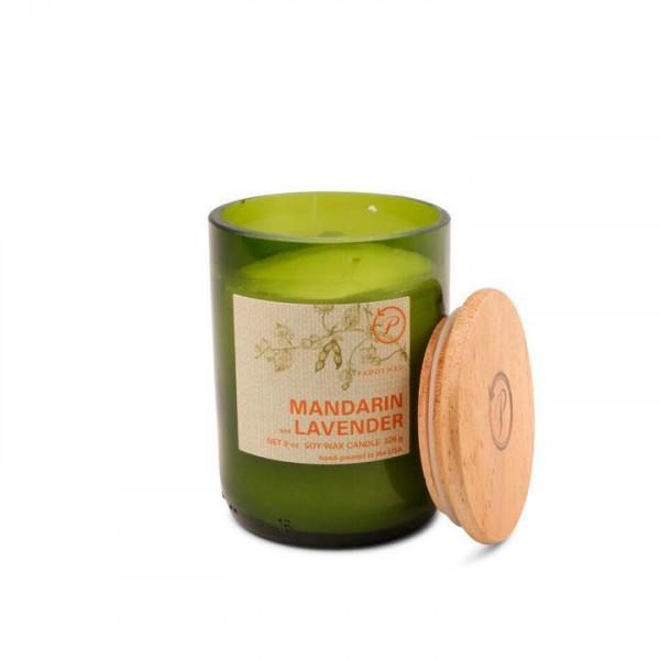 Mandarin & lavender soy candle