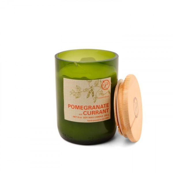 Pomegranate & currant soy candle
