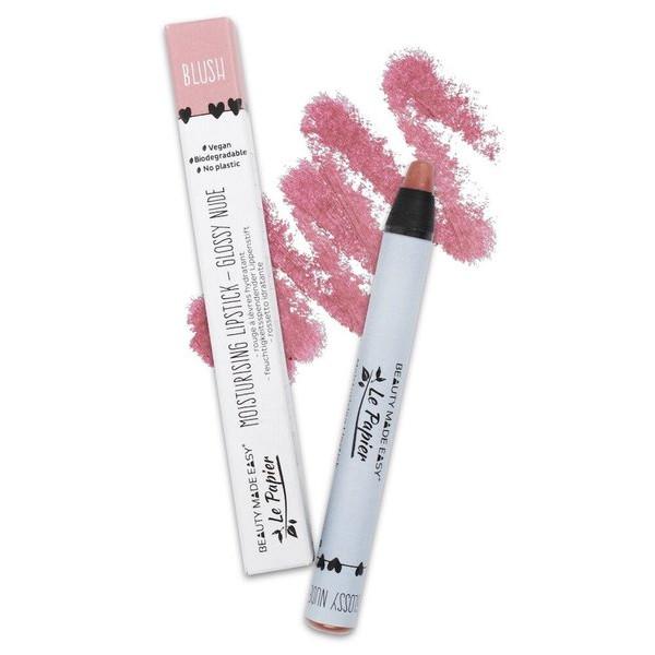 BLUSH glossy lipstick Le Papier